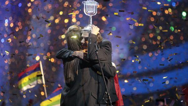 Eurovision 2017 Şarkı Yarışması'nı Portekiz'den Salvador Sobral  'Amar pelos dois' adlı şarkısıyla kazandı - Sputnik Türkiye