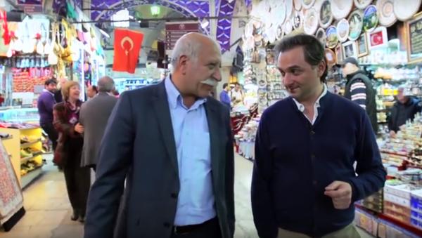 Ünlü Rus tv sunucusu: Türkiye'de ticaret bir aile mesleğidir - Sputnik Türkiye