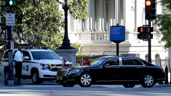 Cumhurbaşkanı Recep Tayyip Erdoğan, Washington'da - Sputnik Türkiye