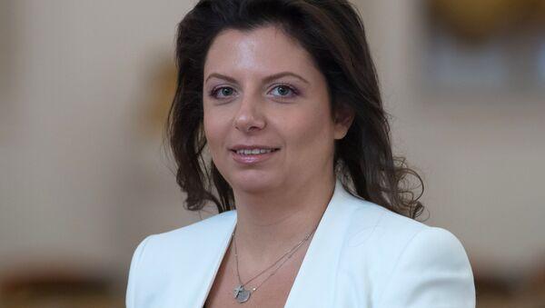 Sputnik'in bağlı olduğu Rossiya Segodnya haber ajansının Genel Yayın Yönetmeni Margarita Simonyan - Sputnik Türkiye