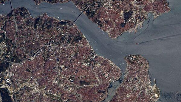 Fransız astronot uzaydan İstanbul boğazını görüntüledi - Sputnik Türkiye