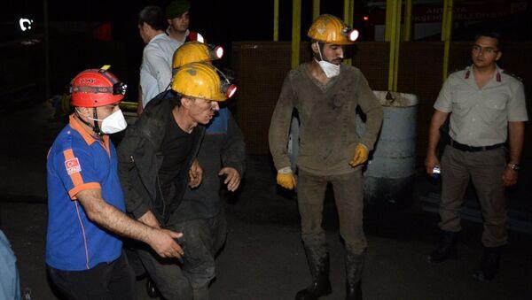 Antalya'da maden ocağında göçük - Sputnik Türkiye