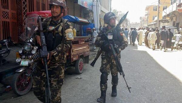 Celalabad'da Afganistan polisi - Sputnik Türkiye