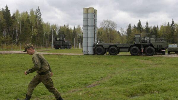 Rus ordusundan Moskova'da S-400'lü eğitim - Sputnik Türkiye