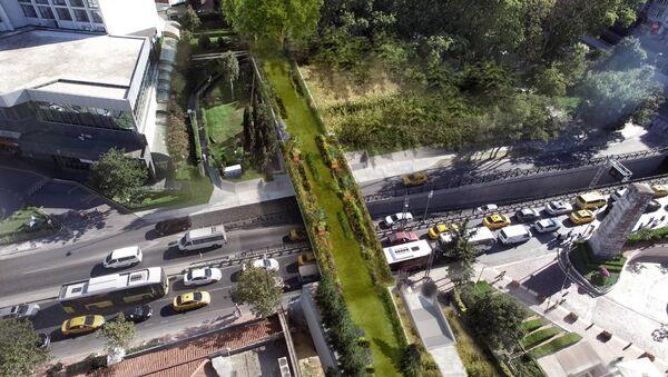 İstanbul'da Gezi Parkı'na Ekolojik Yayay Köprüsü inşa edilecek - Sputnik Türkiye