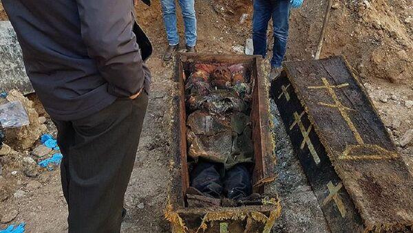 Rus general Vasiliy Geyman'ın olduğu tahmin edilen ceset - Sputnik Türkiye