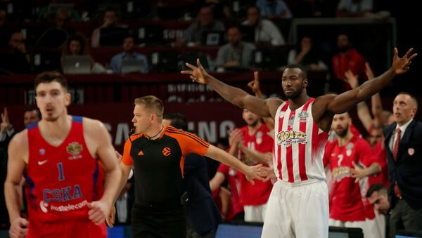 CSKA Moskova - Olympiakos maçı - Sputnik Türkiye