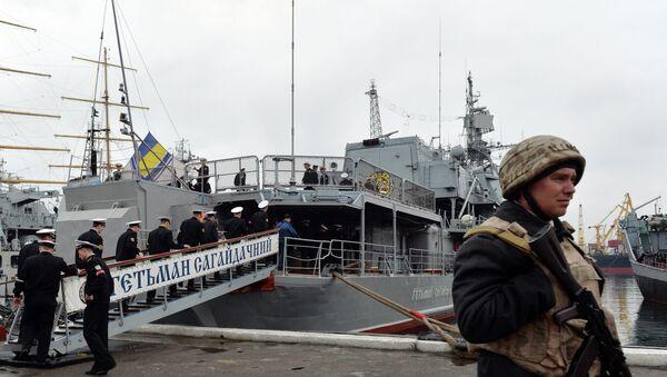 Ukrayna'nın amiral gemisi Getman Sagaydaçnıy - Sputnik Türkiye