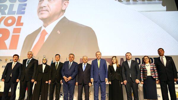 AK Parti Olağanüstü Kongresi - Sputnik Türkiye