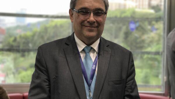 Rusya Dışişleri Bakanlığı Ekonomik İşbirliği Bölümü Direktörü Yevgeniy Stanislavov - Sputnik Türkiye