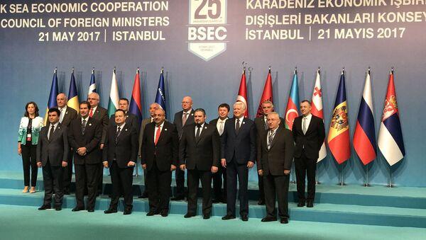 Karadeniz Ekonomik İşbirliği (KEİ) Dışişleri Bakanları Toplantısı - Sputnik Türkiye