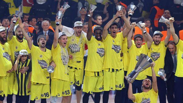 Fenerbahçe Erkek Basketbol Takımı - Sputnik Türkiye