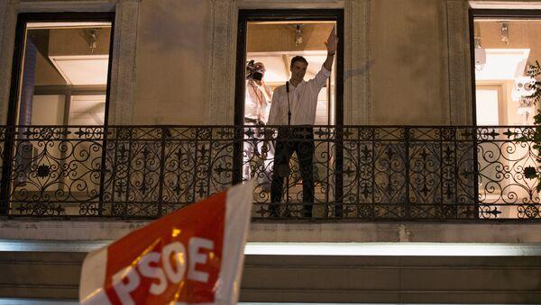 İspanya Sosyalist İşçi Partisi (PSOE) lideri Pedro Sanchez - Sputnik Türkiye