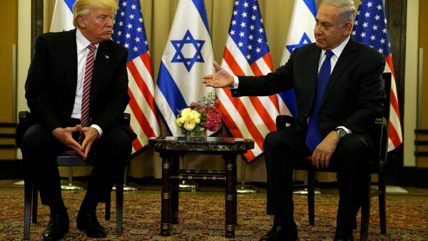 ABD Başkanı Donald Trump ve İsrail Başbakanı Benyamin Netanyahu - Sputnik Türkiye