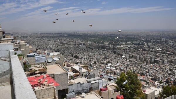 Şam'ın Kasyun Dağı'ndaki mahallesi - Sputnik Türkiye