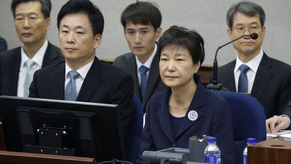 Güney Kore eski Devlet Başkanı Park Geun-hye - Sputnik Türkiye
