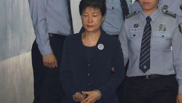 Eski Güney Kore Devlet Başkanı Park Geun-hye - Sputnik Türkiye