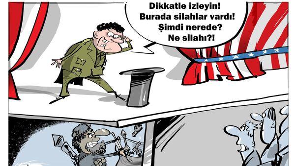 ABD Irak'ta 1 milyar dolarlık silahları kaybetti - Sputnik Türkiye