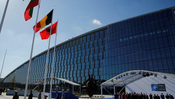 NATO'nun yeni karargahı - Sputnik Türkiye
