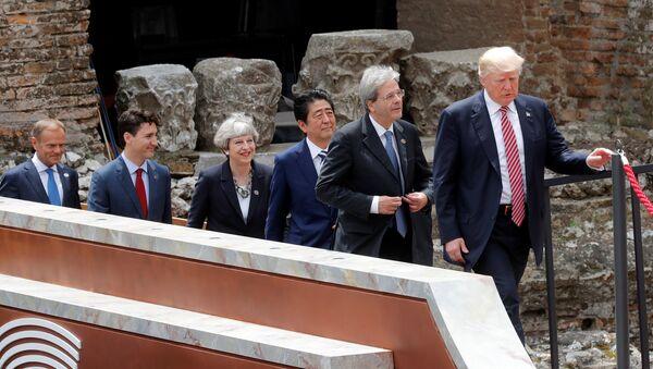 G7 liderleri - Sputnik Türkiye