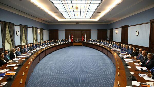 Cumhurbaşkanı Recep Tayyip Erdoğan / AK Parti MKYS'sı - Sputnik Türkiye