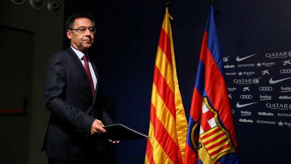 Barcelona Kulübü Başkanı Josep Maria Bartomeu - Sputnik Türkiye