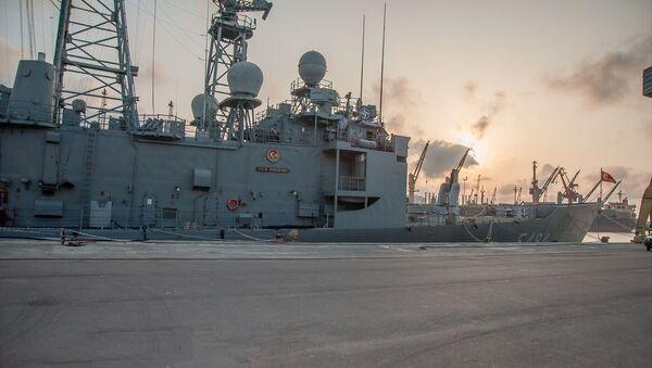 TCG Gökçeada savaş gemisi - Sputnik Türkiye