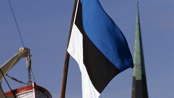 Estonya bayrağı - Sputnik Türkiye