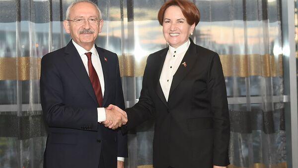 CHP Genel Başkanı Kemal Kılıçdaroğlu, Meral Akşener ile bir araya geldi - Sputnik Türkiye