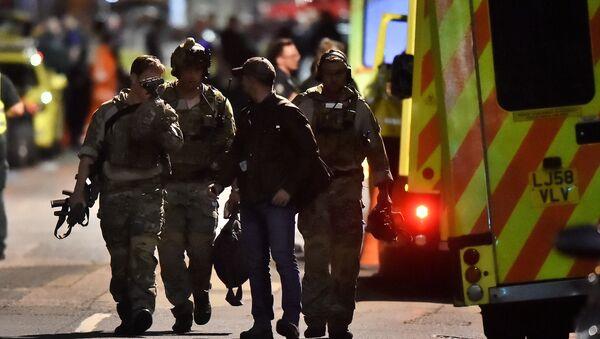 Londra'da terör saldırısı - Sputnik Türkiye