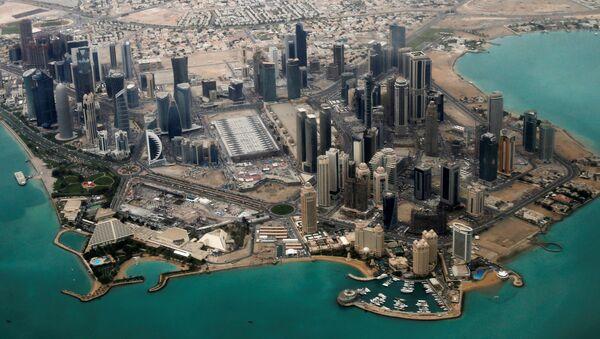 Katar'ın başkenti Doha - Sputnik Türkiye