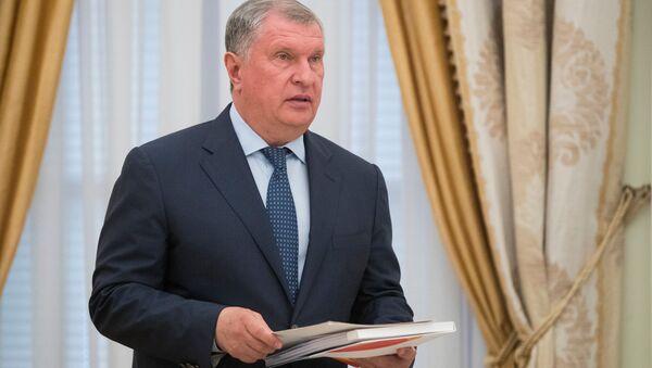 Rosneft Başkanı İgor Seçin - Sputnik Türkiye