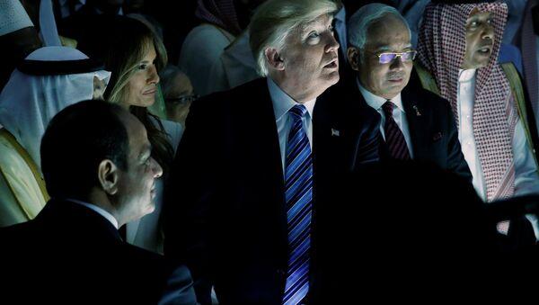 Donald Trump Riyad ziyaret - Sputnik Türkiye