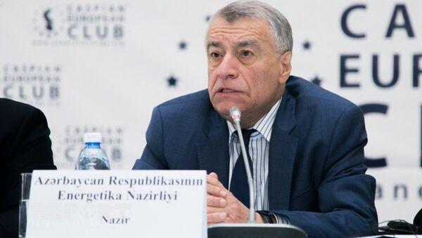 Azerbaycan Enerji Bakanı Natik Aliyev - Sputnik Türkiye