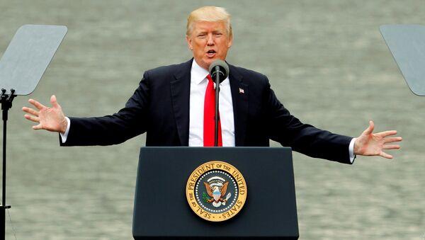 ABD Başkanı Donald Trump - Sputnik Türkiye