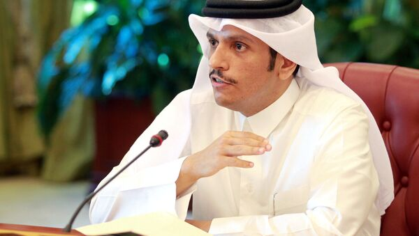 Katar Dışişleri Bakanı Şeyh Muhammed bin Abdurrahman el Sani - Sputnik Türkiye