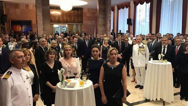 Rusya Milli Günü, Ankara'da Karlov'un yokluğunda ilk kez kutlandı - Sputnik Türkiye