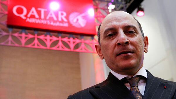 Katar Havayolları CEO'su Ekber el Baker - Sputnik Türkiye