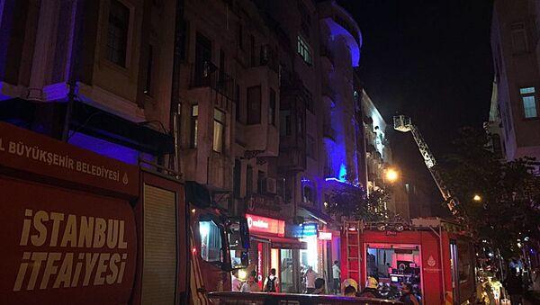 Kumkapı'da otelde yangın - Sputnik Türkiye