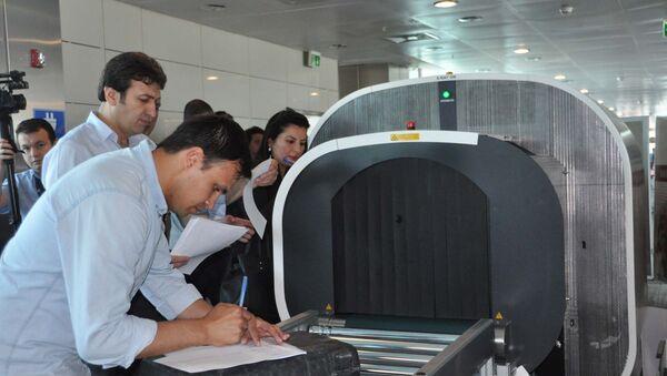 Atatürk Havalimanı'nda tomografi cihazlarında test başladı - Sputnik Türkiye