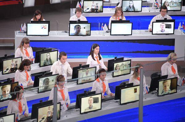 Vladimir Putin ile Direkt Hat programı - Sputnik Türkiye