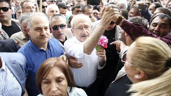 CHP'nin Ankara'dan İstanbul'a başlattığı yürüyüşten kareler - Sputnik Türkiye