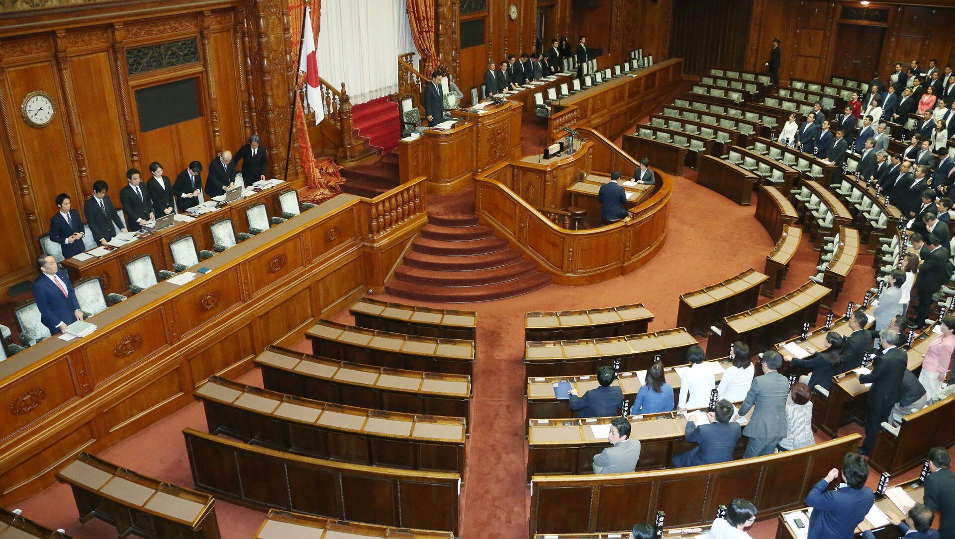 Japonya Parlamentosu - Sputnik Türkiye, 1920, 01.03.2021