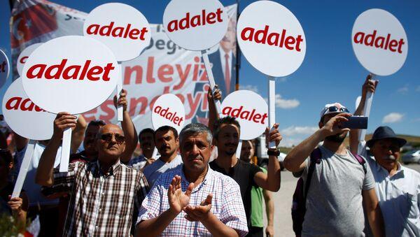 'Adalet Yürüyüşü' - Sputnik Türkiye