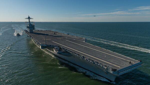 USS Gerald Ford - Sputnik Türkiye