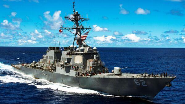 ABD destroyeri USS Fitzgerald - Sputnik Türkiye