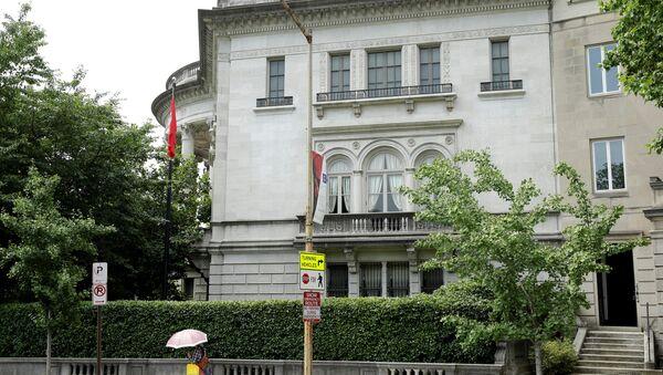 Türkiye'nin Washington Büyükelçiliği Konutu - Sputnik Türkiye