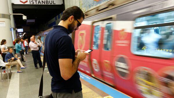 İstanbul metrosu - Sputnik Türkiye