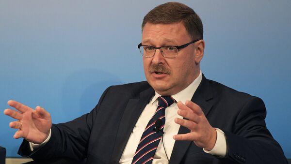 Rusya Federasyon Konseyi Dış İlişkiler Komitesi Başkanı Konstantin Kosaçev - Sputnik Türkiye