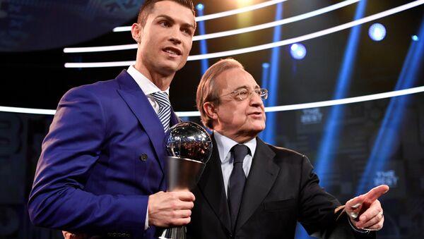 Cristiano Ronaldo-Florentino Perez - Sputnik Türkiye
